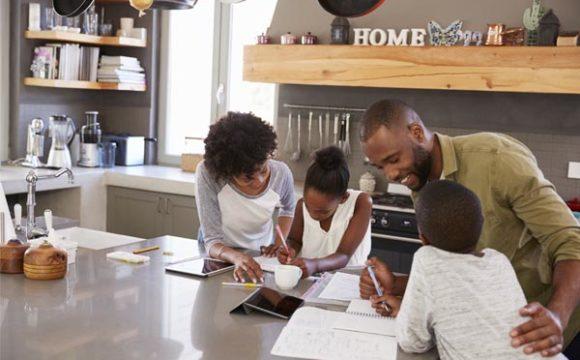 HELPING KIDS WITH HOMEWORK